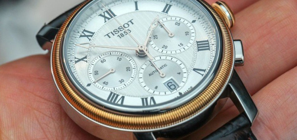 Tissot bridgeport chronograph